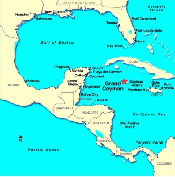 grand cayman islands map world book covers